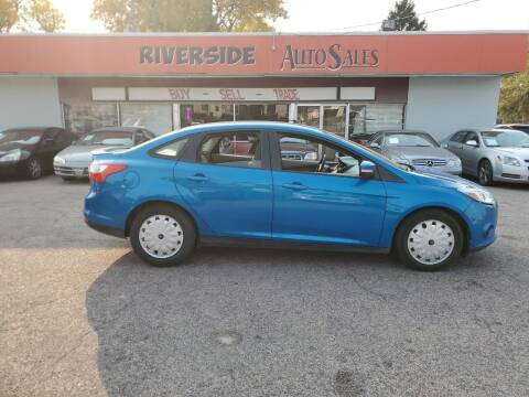 2013 Ford Focus for sale at RIVERSIDE AUTO SALES in Sioux City IA