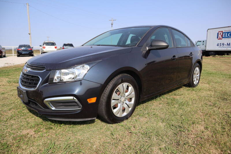 2016 Chevrolet Cruze Limited for sale at Liberty Truck Sales in Mounds OK