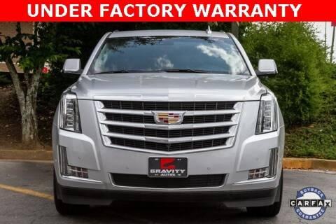 2019 Cadillac Escalade for sale at Gravity Autos Atlanta in Atlanta GA