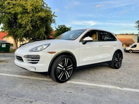 2014 Porsche Cayenne for sale at AUTOSPORT MOTORS in Lake Park FL
