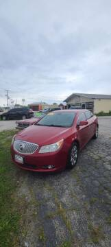 2012 Buick LaCrosse for sale at Chicago Auto Exchange in South Chicago Heights IL