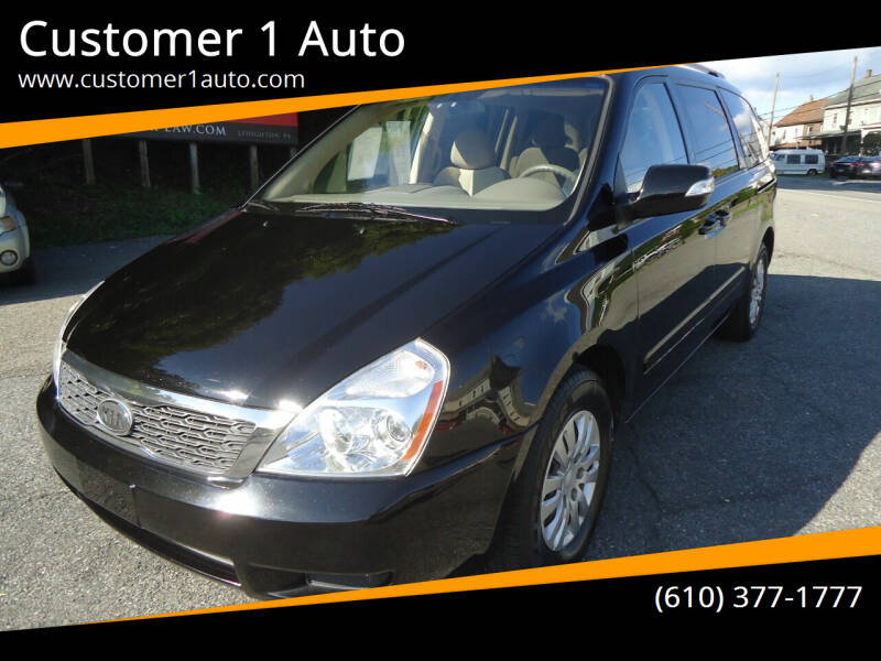 2012 Kia Sedona for sale at Customer 1 Auto in Lehighton PA
