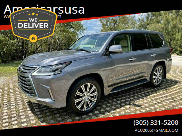 2017 Lexus LX 570 for sale at Americarsusa in Hollywood FL