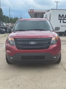 2015 Ford Explorer for sale at D & J's Automotive Sales LLC in Olathe KS