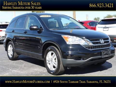 2011 Honda CR-V EXL for sale at Hawley Motor Sales in Sarasota FL