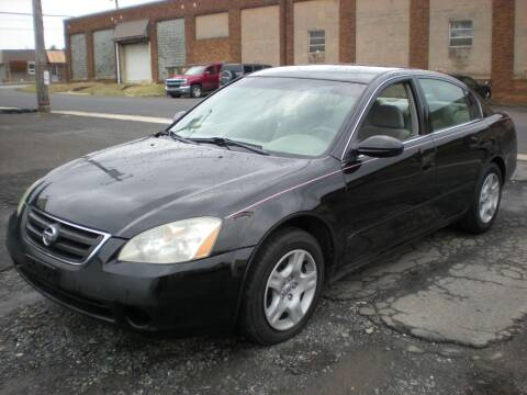 2002 Nissan Altima for sale at 611 CAR CONNECTION in Hatboro PA