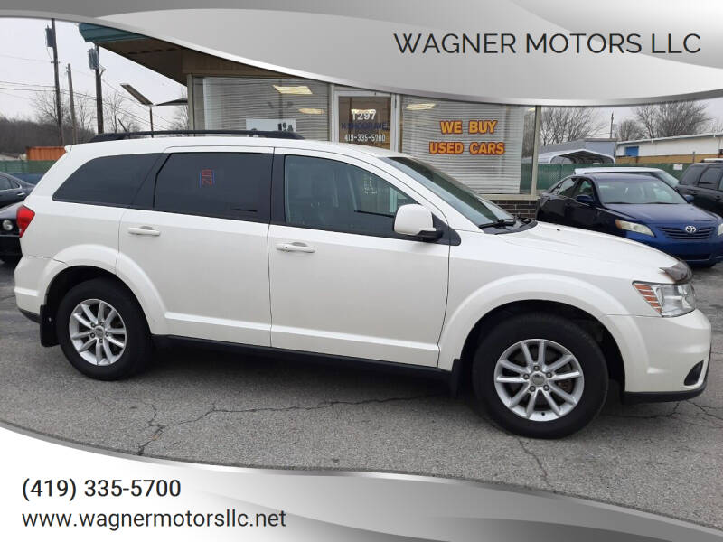 2015 Dodge Journey for sale at Wagner Motors LLC in Wauseon OH