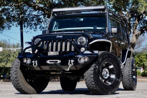 2014 Jeep Wrangler Unlimited for sale at JD MOTORS in Austin TX