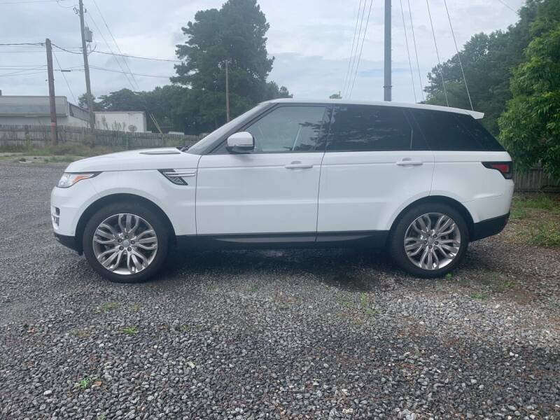 2017 Land Rover Range Rover Sport for sale at Glamorous Motors in Woodstock GA