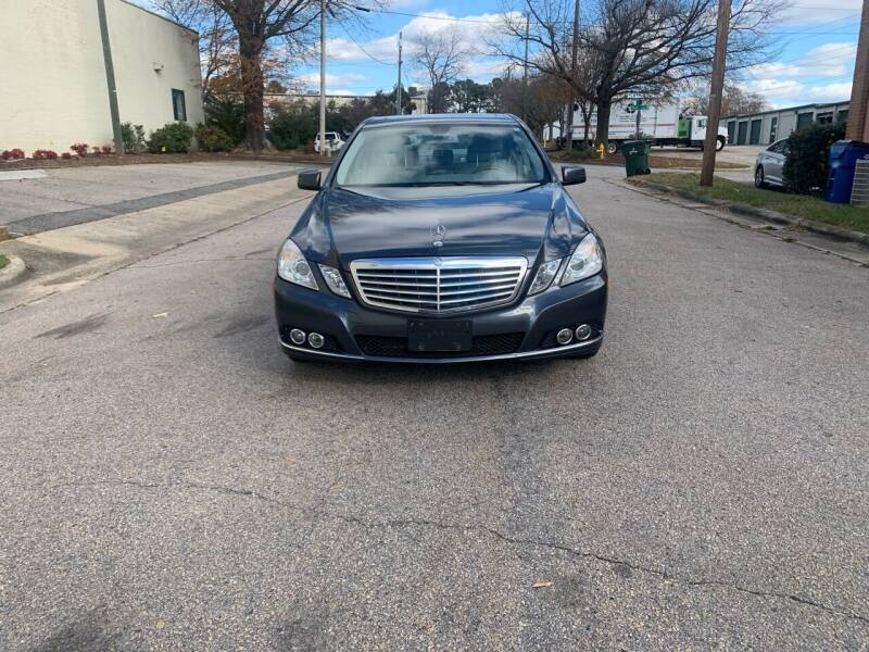 2011 Mercedes-Benz E-Class for sale at Horizon Auto Sales in Raleigh NC