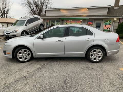 2010 Ford Fusion for sale at Revolution Motors LLC in Wentzville MO