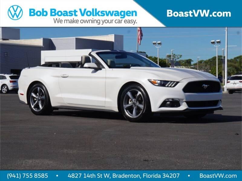 2017 Ford Mustang for sale at Bob Boast Volkswagen in Bradenton FL