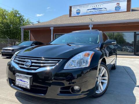2010 Nissan Altima for sale at Global Automotive Imports of Denver in Denver CO