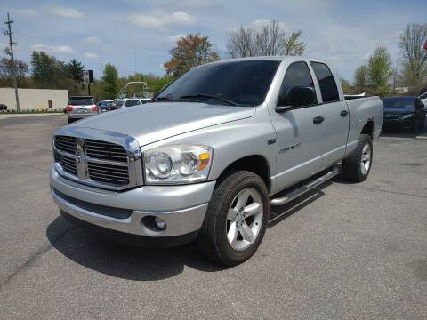 2007 Dodge Ram Pickup 1500 for sale at Cruisin' Auto Sales in Madison IN