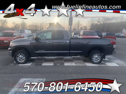 2013 Toyota Tundra for sale at FUELIN FINE AUTO SALES INC in Saylorsburg PA