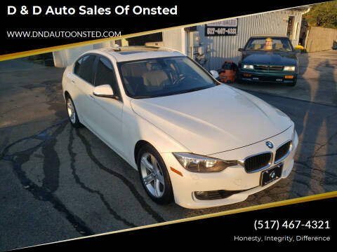 2015 BMW 3 Series for sale at D & D Auto Sales Of Onsted in Onsted MI