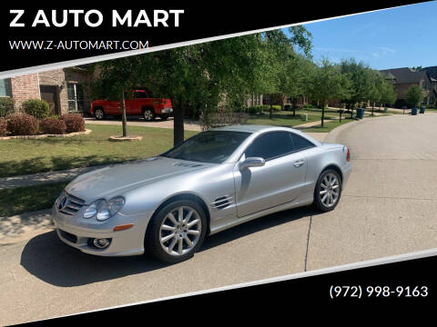 2007 Mercedes-Benz SL-Class for sale at Z AUTO MART in Lewisville TX