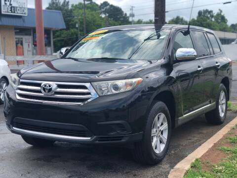 2013 Toyota Highlander for sale at Apex Knox Auto in Knoxville TN