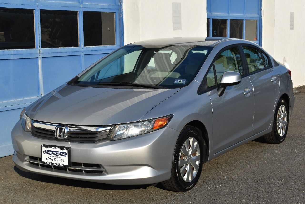 2012 Honda Civic LX 4dr Sedan 5A full