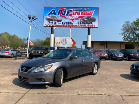 2017 Nissan Altima for sale at ANF AUTO FINANCE in Houston TX