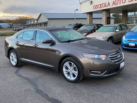 2015 Ford Taurus for sale at Osceola Auto Sales and Service in Osceola WI