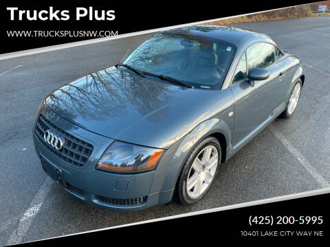 2003 Audi TT for sale at Trucks Plus in Seattle WA