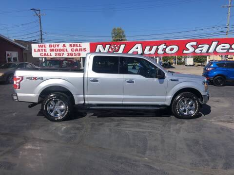 2019 Ford F-150 for sale at N & J Auto Sales in Warsaw IN