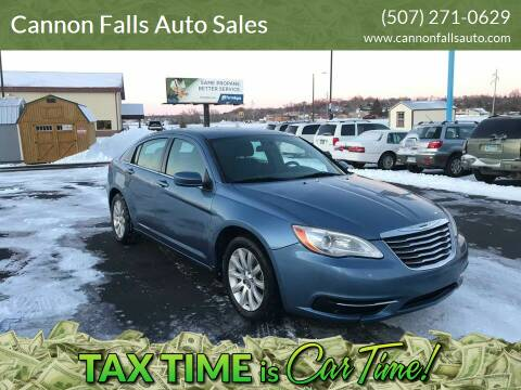 2011 Chrysler 200 for sale at Cannon Falls Auto Sales in Cannon Falls MN
