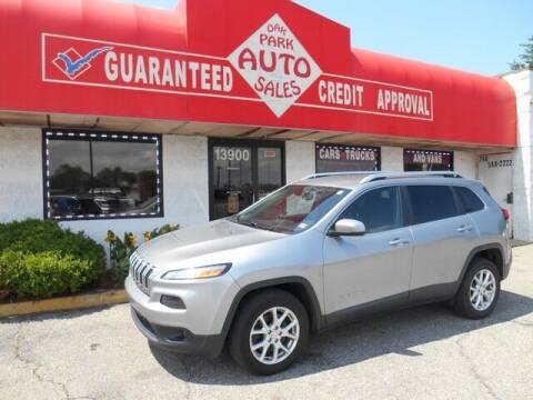 2015 Jeep Cherokee for sale at Oak Park Auto Sales in Oak Park MI