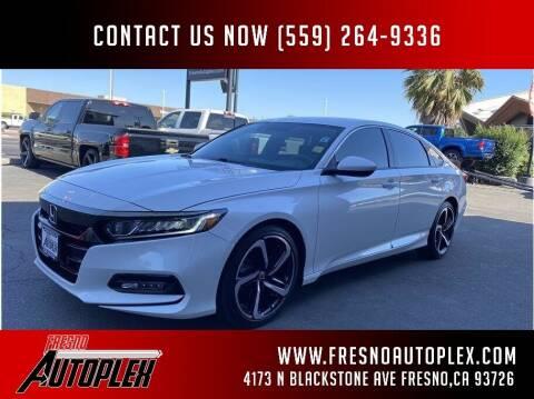 2018 Honda Accord for sale at Fresno Autoplex in Fresno CA