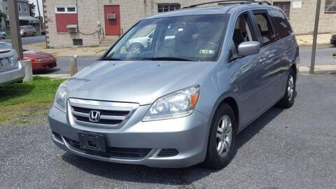 2007 Honda Odyssey for sale at Centre City Imports Inc in Reading PA