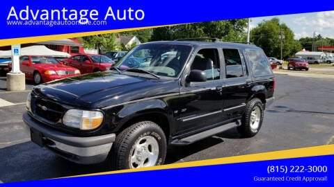 1998 Ford Explorer for sale at Advantage Auto Sales & Imports Inc in Loves Park IL