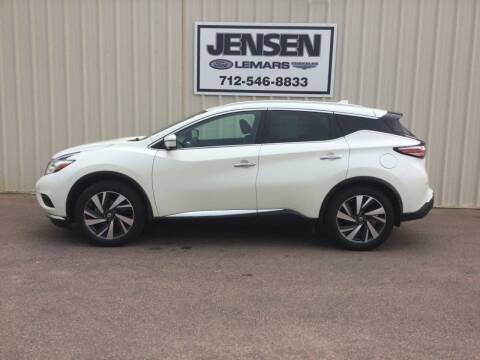 2018 Nissan Murano for sale at Jensen's Dealerships in Sioux City IA