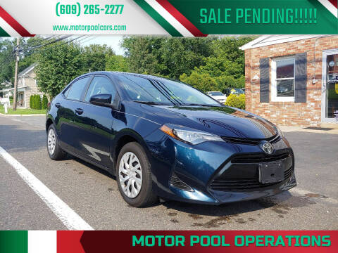 2019 Toyota Corolla for sale at Motor Pool Operations in Hainesport NJ
