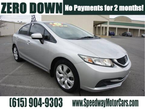 2015 Honda Civic for sale at Speedway Motors in Murfreesboro TN