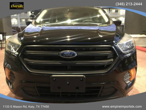 2017 Ford Escape for sale at EMPIREIMPORTSTX.COM in Katy TX