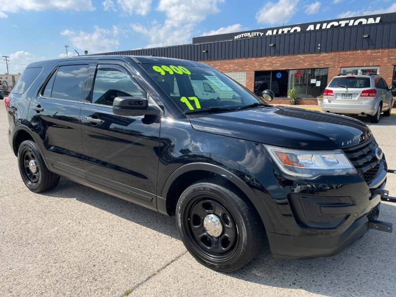2017 Ford Explorer for sale at Motor City Auto Auction in Fraser MI