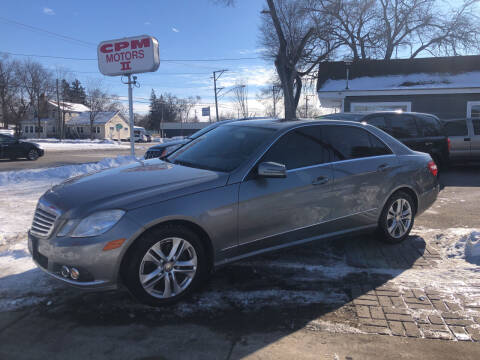 2010 Mercedes-Benz E-Class for sale at CPM Motors Inc in Elgin IL