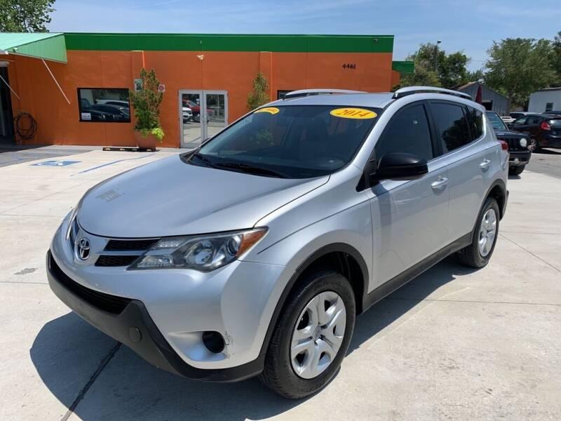 2014 Toyota RAV4 for sale at Galaxy Auto Service, Inc. in Orlando FL