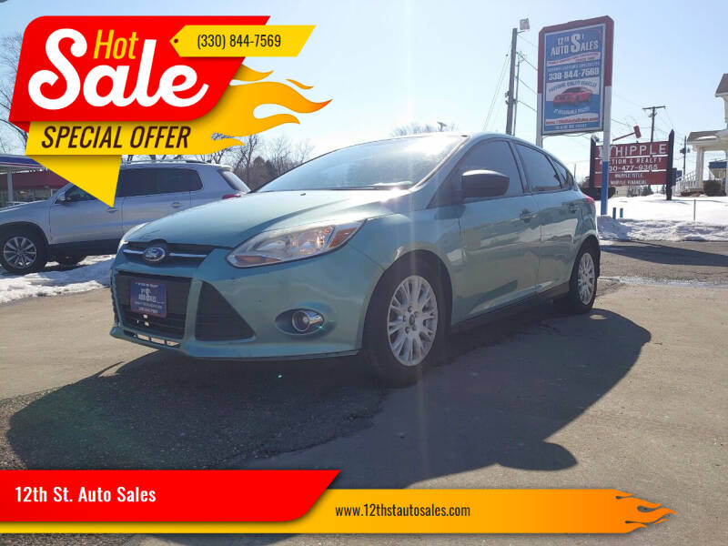 2012 Ford Focus for sale at 12th St. Auto Sales in Canton OH