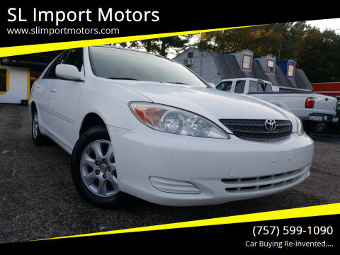 2002 Toyota Camry for sale at SL Import Motors in Newport News VA