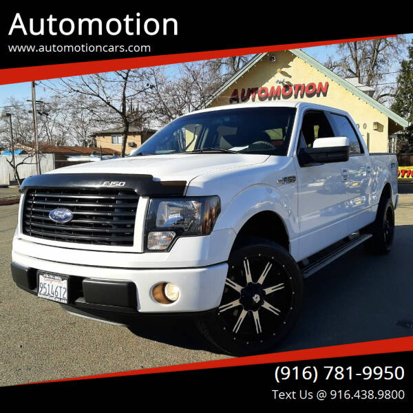 2014 Ford F-150 for sale at Automotion in Roseville CA
