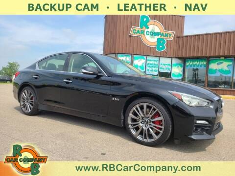 2017 Infiniti Q50 for sale at R & B Car Co in Warsaw IN