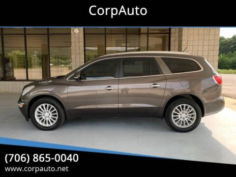2012 Buick Enclave for sale at CorpAuto in Cleveland GA