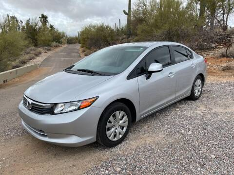 2012 Honda Civic for sale at Auto Executives in Tucson AZ
