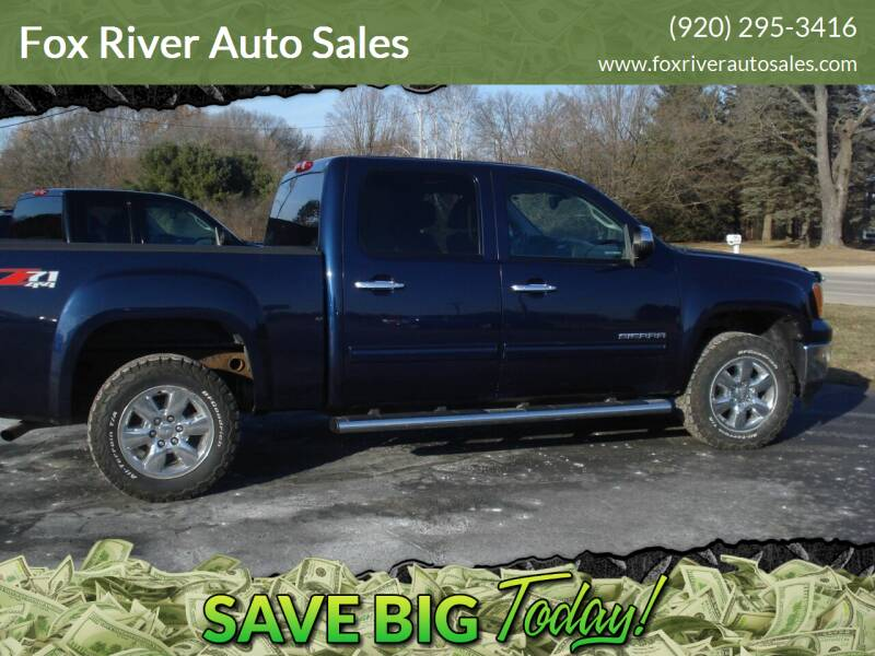 2012 GMC Sierra 1500 for sale at Fox River Auto Sales in Princeton WI