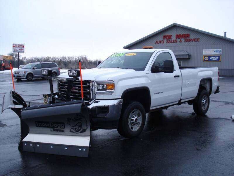 2018 GMC Sierra 2500HD for sale at Fox River Auto Sales in Princeton WI