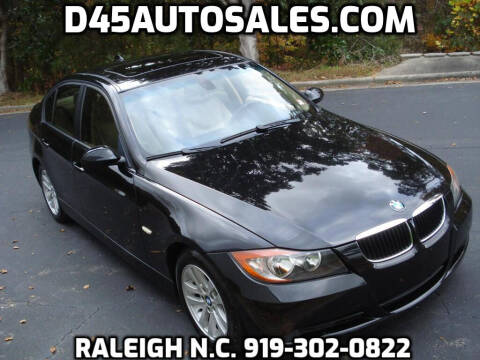 2006 BMW 3 Series for sale at D45 Auto Brokers in Raleigh NC