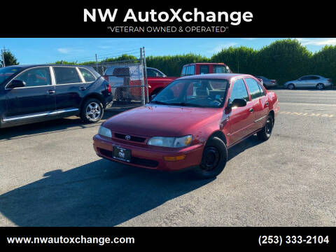 1996 Toyota Corolla for sale at NW AutoXchange in Auburn WA