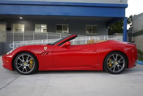 2010 Ferrari California for sale at PERFORMANCE AUTO WHOLESALERS in Miami FL